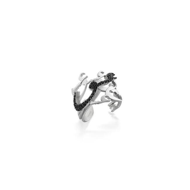 Rumi Collection - Gümüş Aşk Taşlı Yüzük