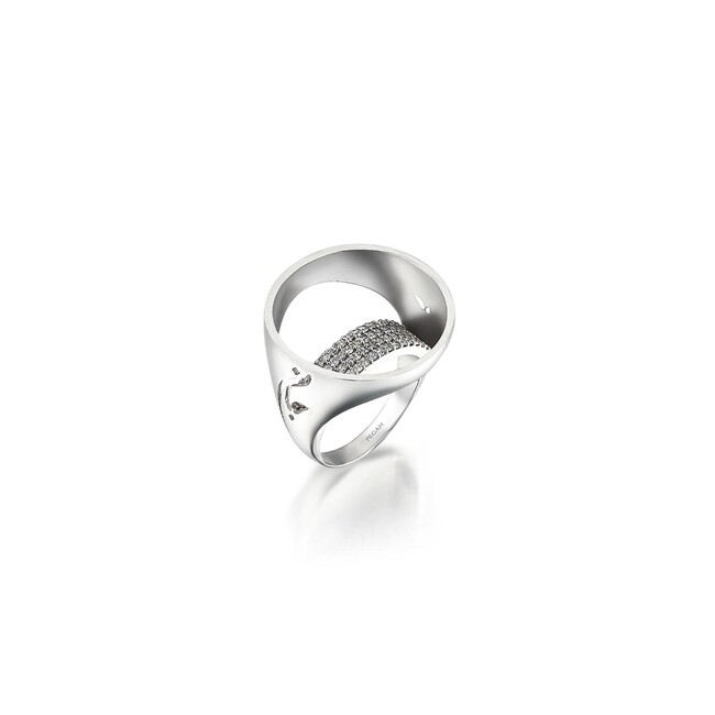 Uniq Design - Gümüş Dünya Yüzük