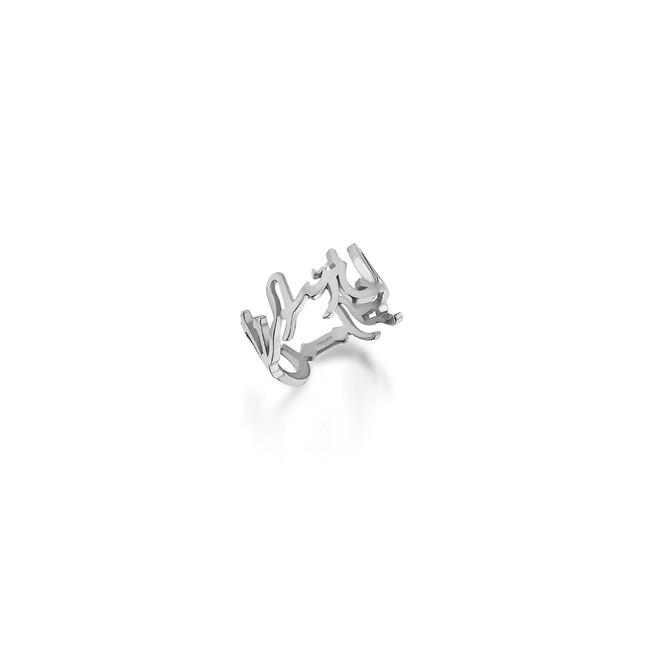 Shems Collection - Gümüş Esma Yüzük