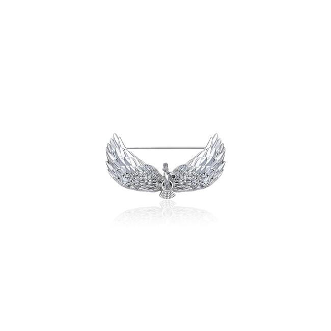 Farvahar Collection - Gümüş Farvahar Broş