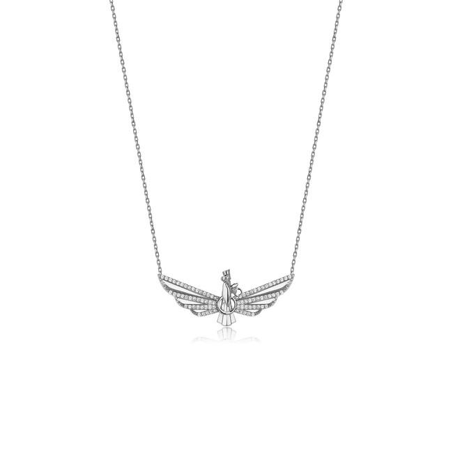 Farvahar Collection - Gümüş Farvahar Adım Kolye