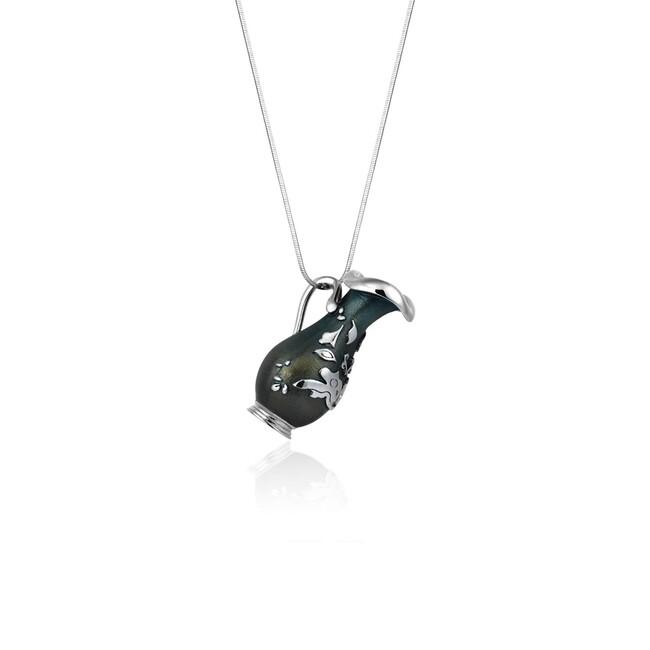 Sabancı Collection - Gümüş Feyhaman Duran Sürahi Kolye