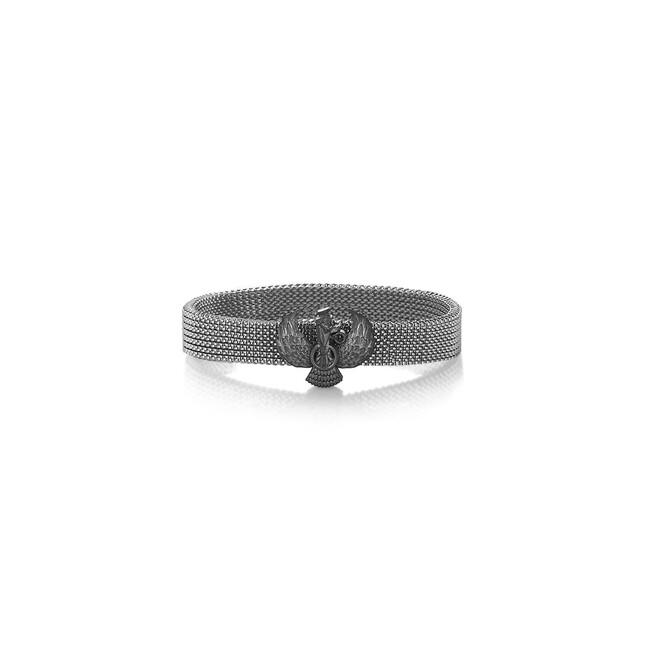 Farvahar Collection - Gümüş Farvahar Bileklik