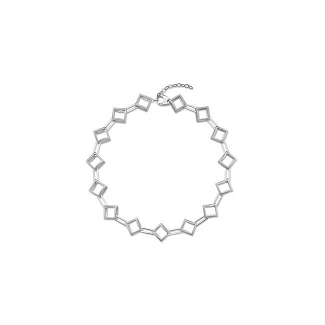 Rumi Collection - Gümüş Nokta Choker