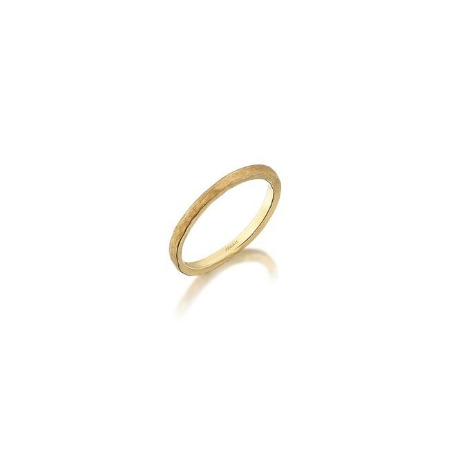 Uniq Design - Magnetite Altın Yüzük