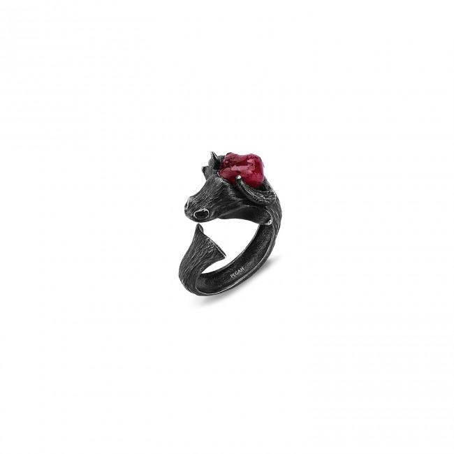 Matador Collection - Matador Siyah Ruby Yüzük