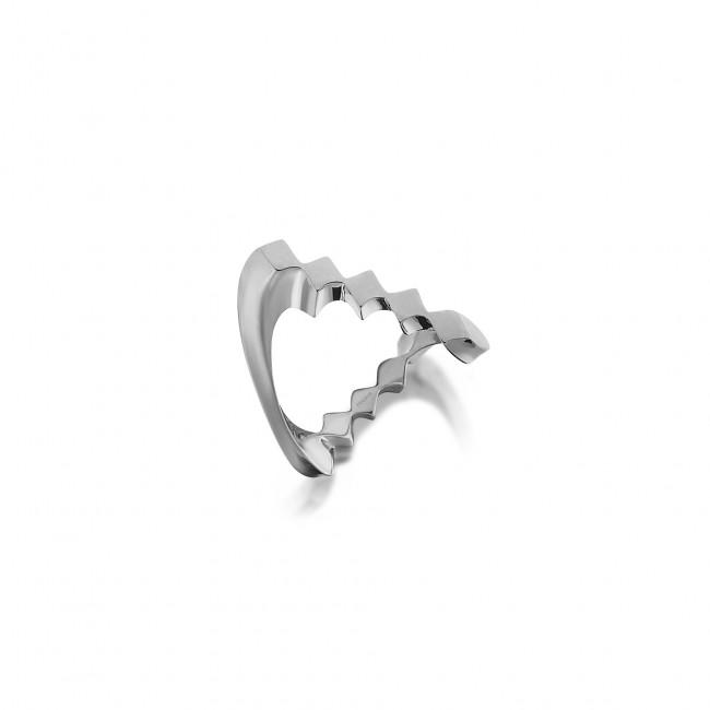 Uniq Design - Gümüş Nokta Sonsuzluk Yüzük