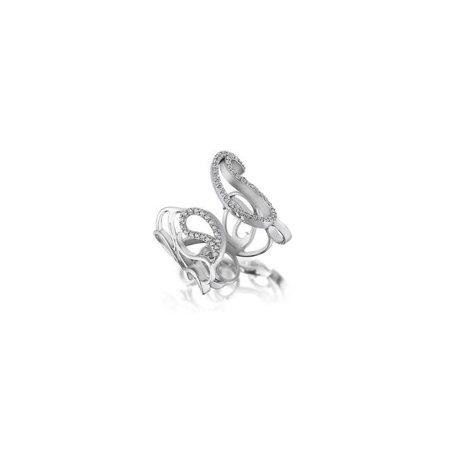 Uniq Design - Gümüş Botte Taşlı Yüzük (1)