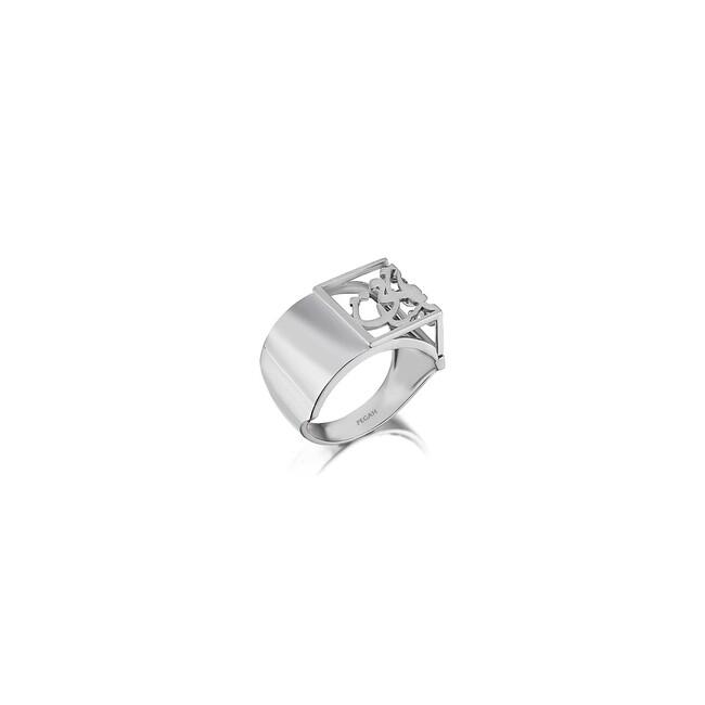 Uniq Design - Gümüş Saghi ve Mey Yüzük
