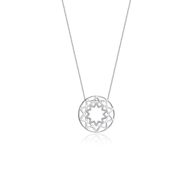 Shems Collection - Gümüş Şems Kolye (1)