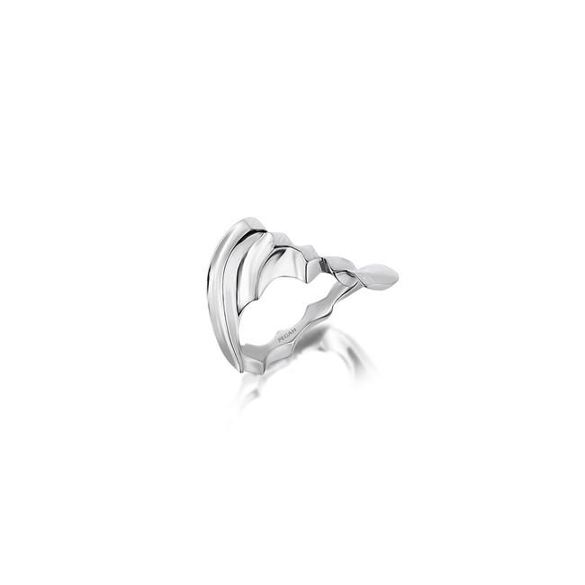 Rumi Collection - Gümüş Sonsuz Aşk Nokta Yüzük