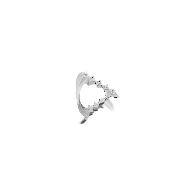 Uniq Design - Gümüş Sonsuzluk Taşlı Yüzük
