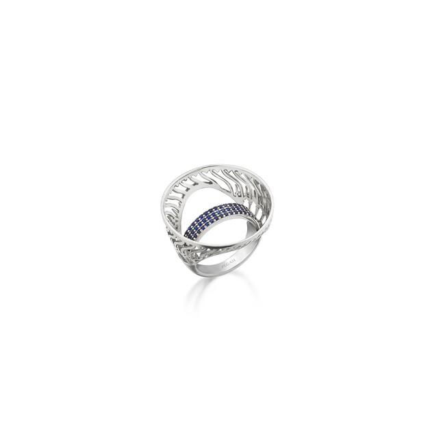 Rumi Collection - Gümüş Taşlı Can Yüzük
